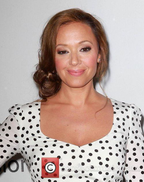 Leah Remini and Beverly Hilton Hotel 11