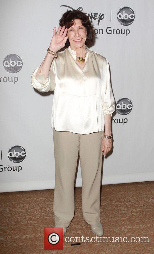 Lily Tomlin and Beverly Hilton Hotel 2
