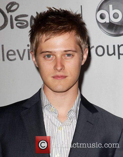Lucas Grabeel and Beverly Hilton Hotel 1