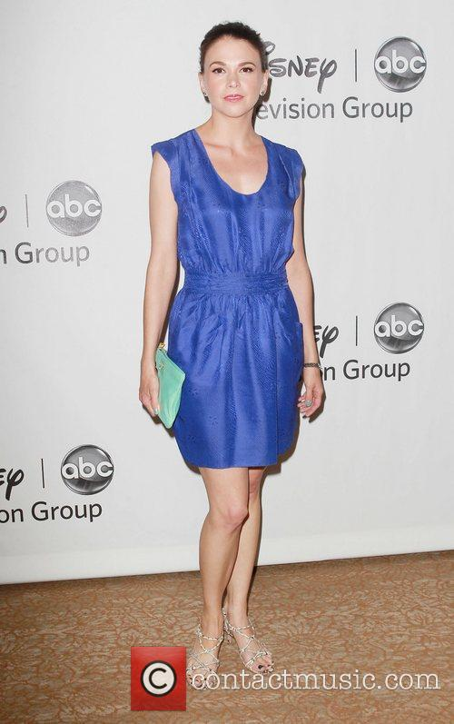 Sutton Foster and Beverly Hilton Hotel 1