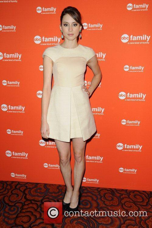 Troian Bellisario ABC Family Upfront New York City,...