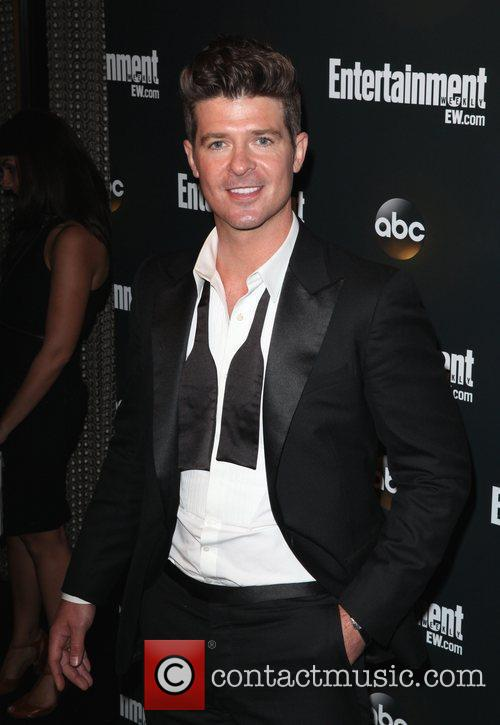 Robin Thicke  Entertainment Weekly & ABC TV...