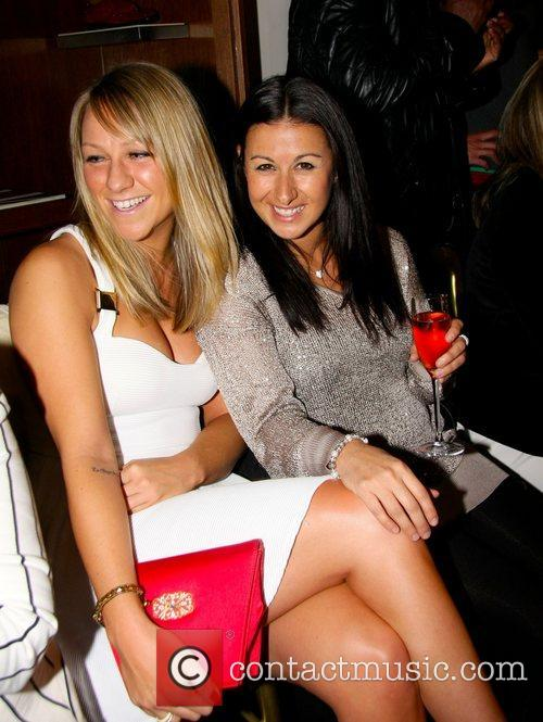 Chloe Madeley and Hayley Tamaddon at the Absolutely...