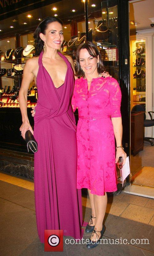 Sophie Anderton and Susannah Lovis at the Absolutely...