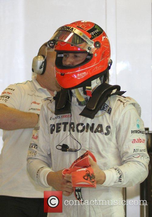 Michael Schumacher, Mercedes and Team 3