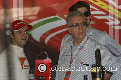 Piero Ferrari, Felipe Massa, Brasilien and Team Ferrari 2