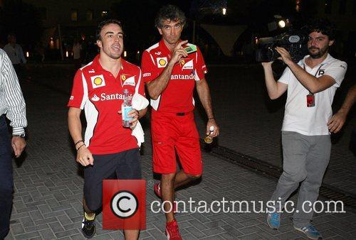 Fernando Alonso  during Day 2 at The...
