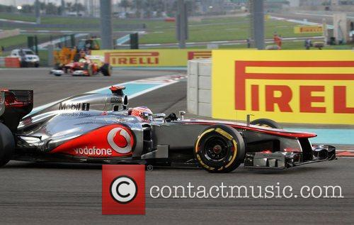 Jenson Button  during Day 2 at The...