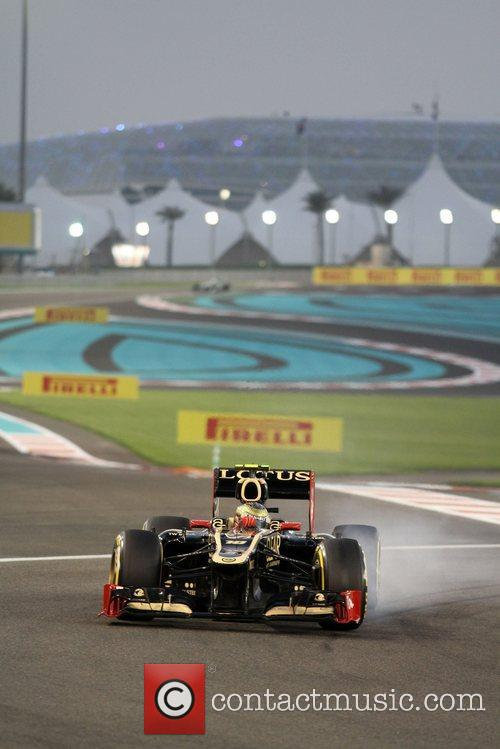 Romain Grosjean  during Day 2 at The...