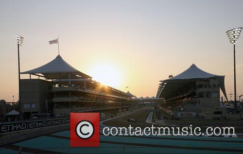 Yas Marina Circuit View  during Day 2...