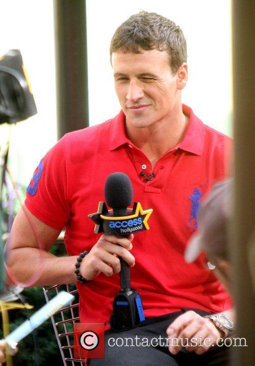 Ryan Lochte appears on 'Access Hollywood' New York...