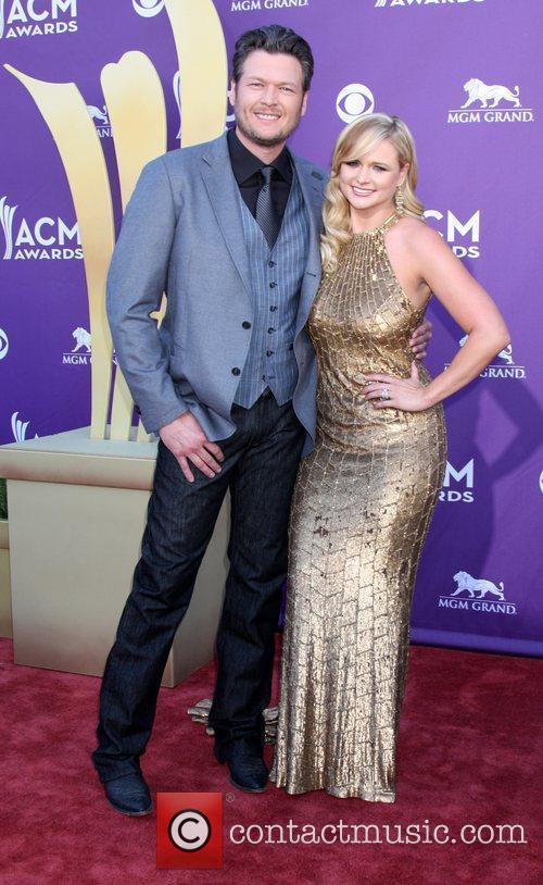 Blake Sheldon, Miranda Lambert 2012 ACM Awards (Academy...