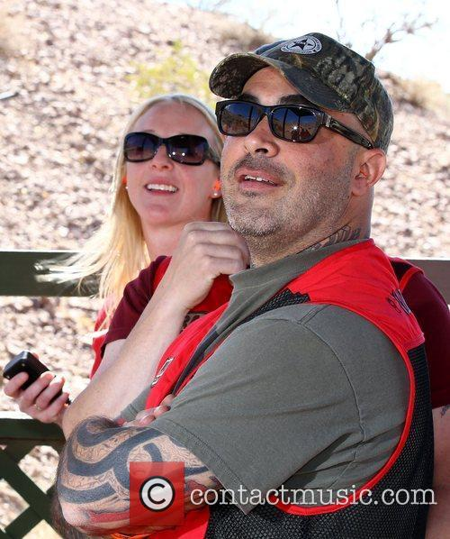 Aaron Lewis NRA Country ACM Celebrity Shoot at...