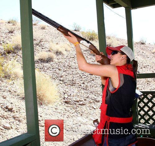 Cherrill Green NRA Country ACM Celebrity Shoot at...