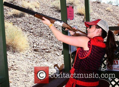 Hanah Blaylock NRA Country ACM Celebrity Shoot at...