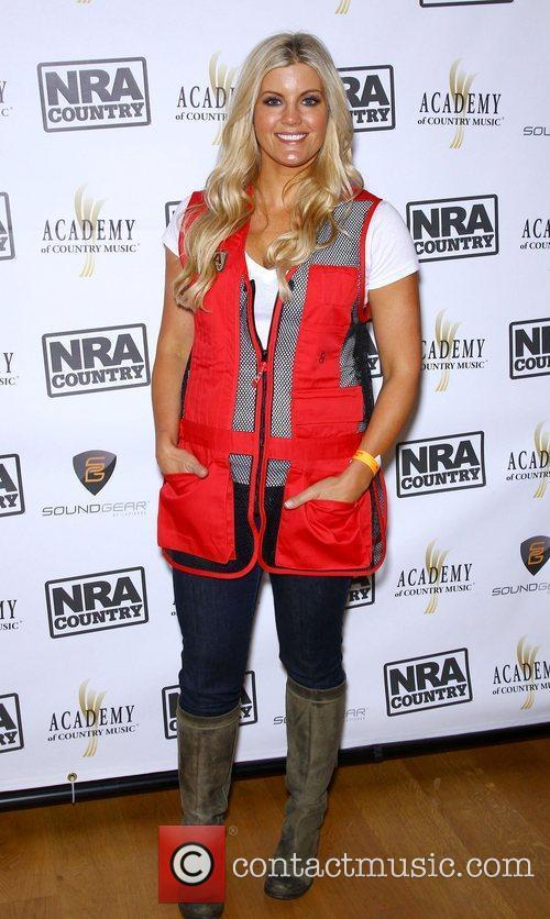 Laura Schara NRA Country ACM Celebrity Shoot at...
