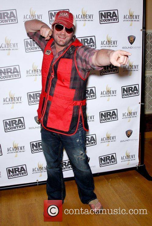 Lee Brice NRA Country ACM Celebrity Shoot at...