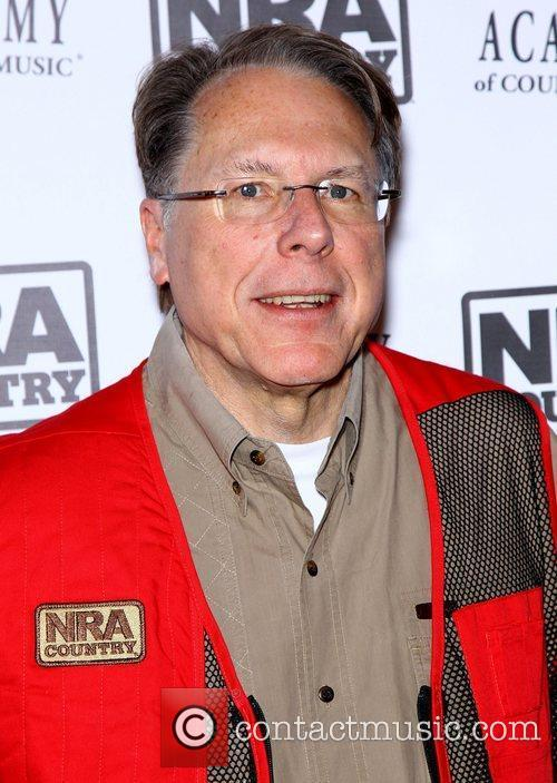 Wayne LaPierre NRA Country ACM Celebrity Shoot at...