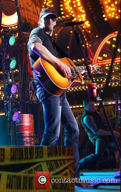 Eric Church 2012 ACM Weekend on Fremont Street...