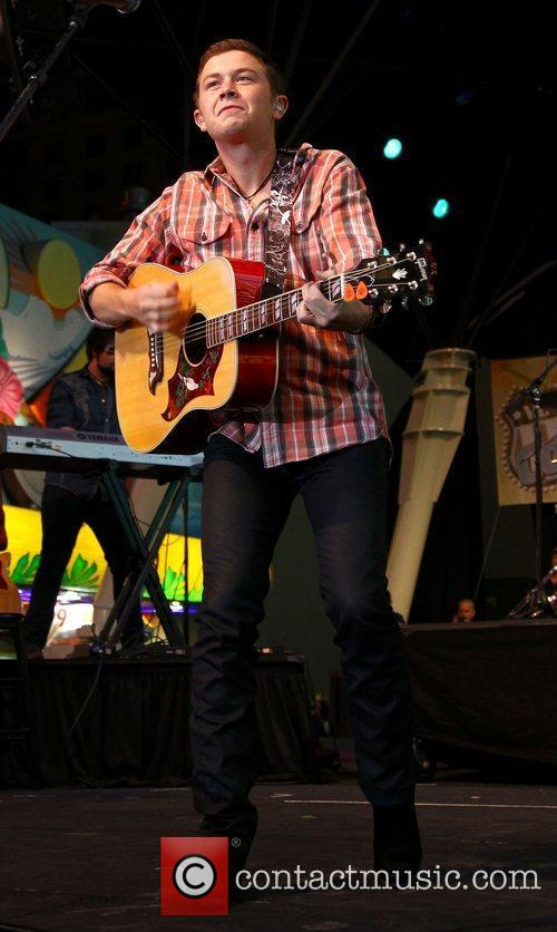 Scotty McCreery ACM Weekend On Fremont