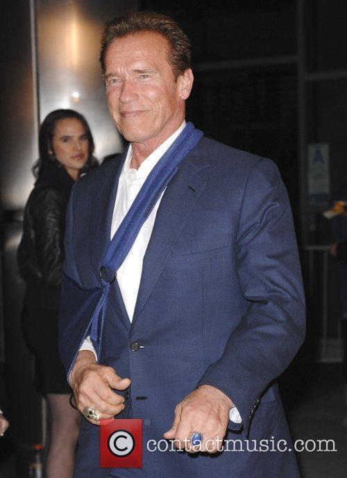 Arnold Schwarzenegger  The Los Angeles premiere of...