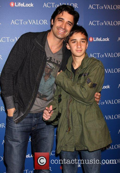 Gilles Marini and his son Georges Marini The...