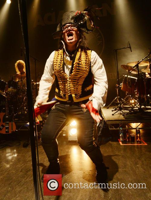 Adam Ant and Shepherd's Bush Empire 8