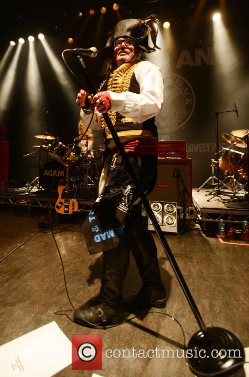 Adam Ant and Shepherd's Bush Empire 7