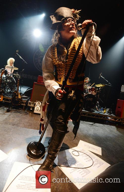 Adam Ant and Shepherd's Bush Empire 5