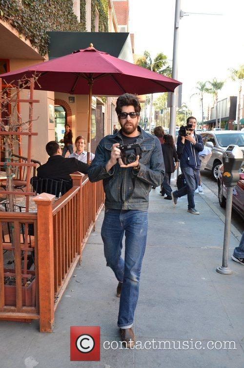 adam goldberg out snapping photos while hanging 5789424