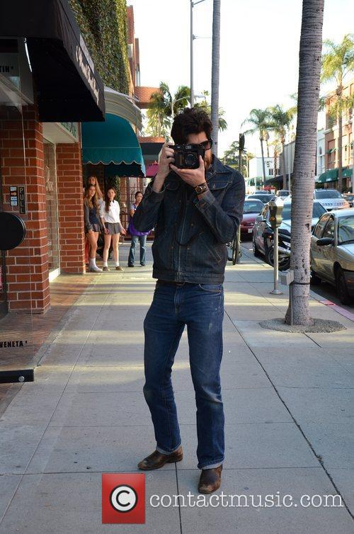 adam goldberg out snapping photos while hanging 5789428