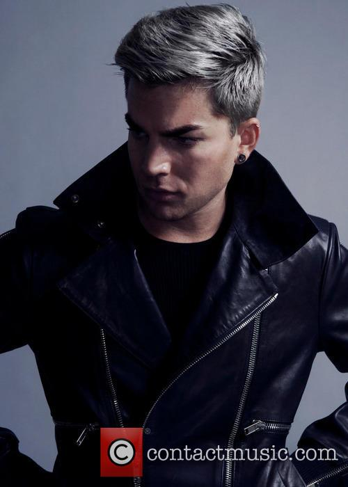 Adam Lambert graces the cover of high style...