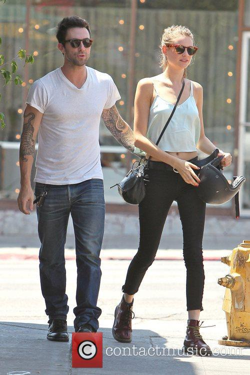 Adam Levine and Behati Prinsloo 11