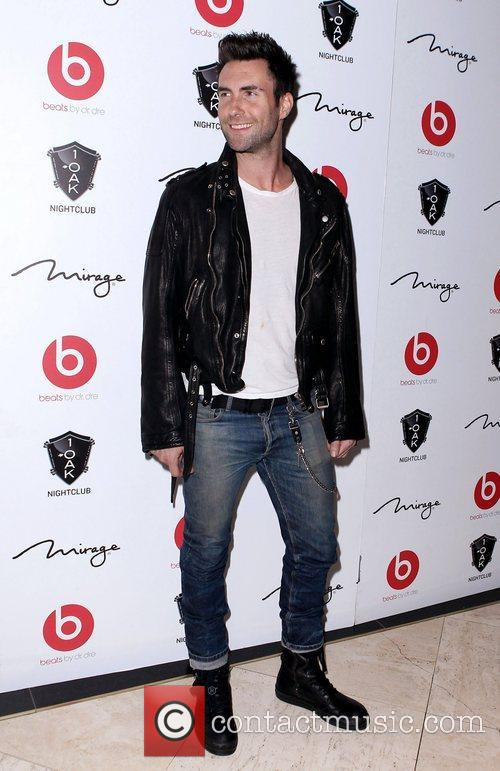 Adam Levine Maroon 5's Adam Levine arrives to...