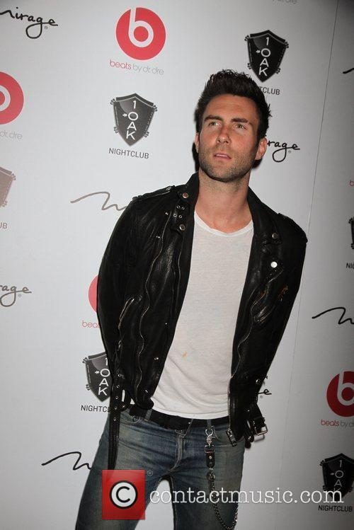 Maroon 5's Adam Levine arrives to perform live...