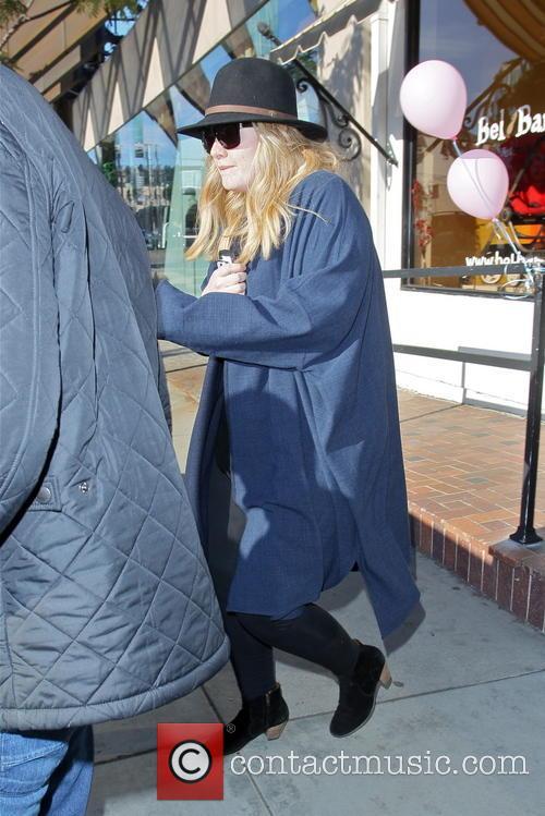 Adele Atkins; Adele Adele seen leaving Bel Bambini...