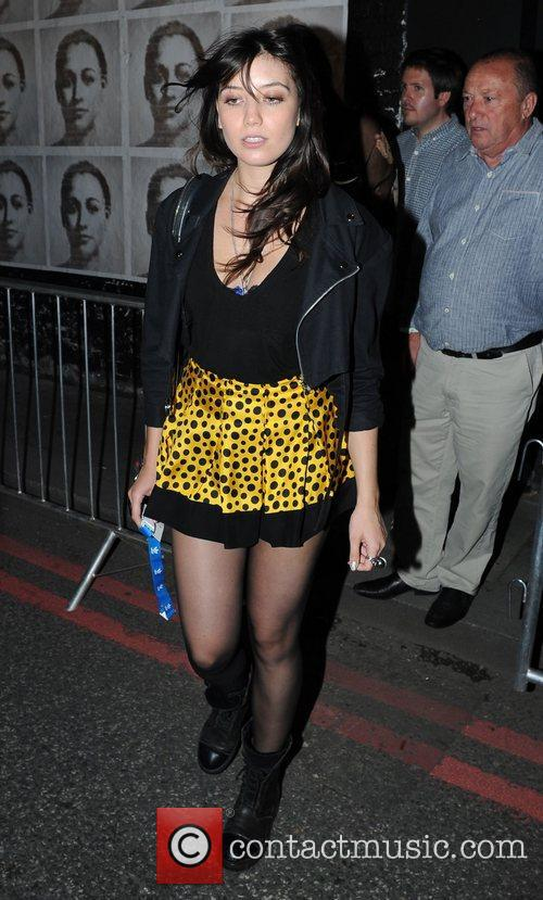 Daisy Lowe Celebrities leave the Adidas Underground party...