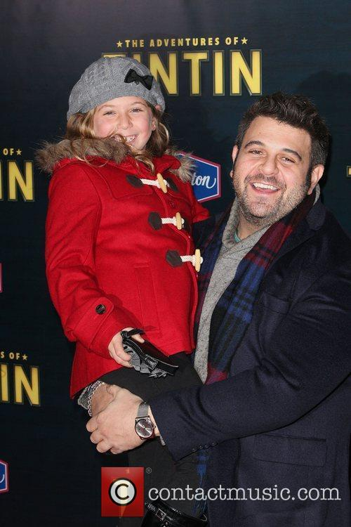 Adam Richman and Ziegfeld Theatre 2