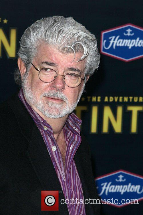 director george lucas at the new york 3653225