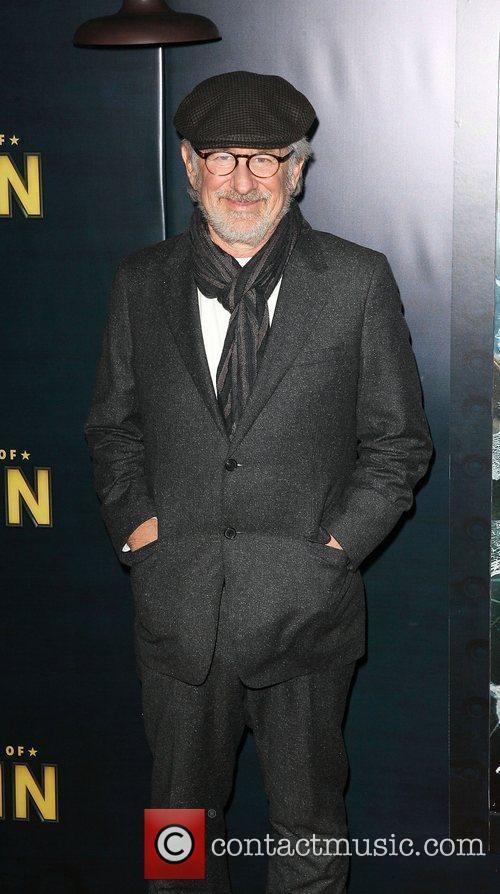 Steven Spielberg and Ziegfeld Theatre 4