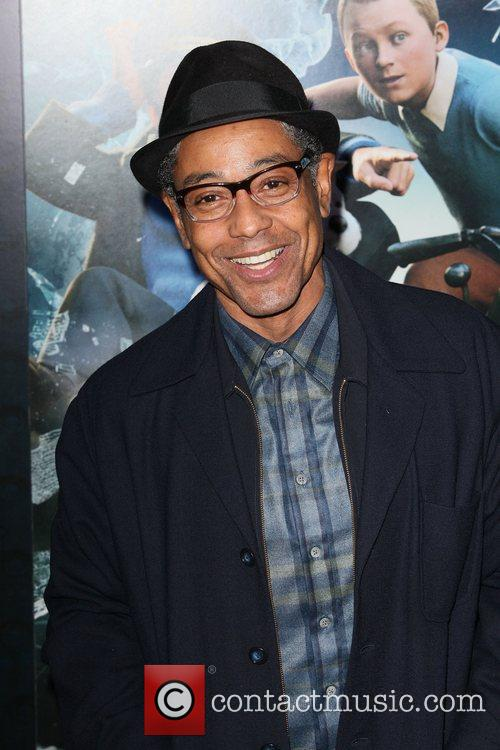 Giancarlo Esposito and Ziegfeld Theatre 1