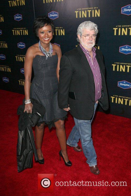 Mellody Hobson, George Lucas and Ziegfeld Theatre 3