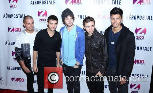 Tom Parker, Max George, Jay Mcguiness, Nathan Sykes, Siva Kaneswaran and The Wanted 4