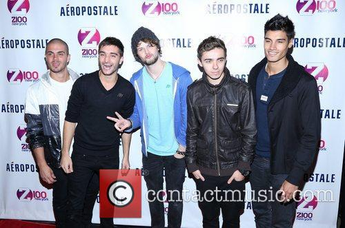 Tom Parker, Max George, Jay Mcguiness, Nathan Sykes, Siva Kaneswaran and The Wanted 5