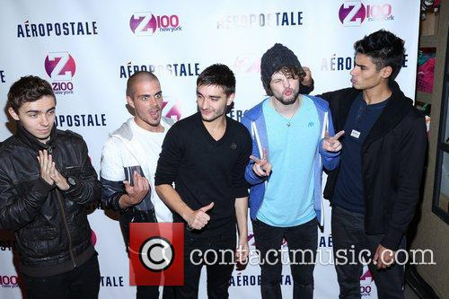 Tom Parker, Max George, Jay Mcguiness, Nathan Sykes, Siva Kaneswaran and The Wanted 3