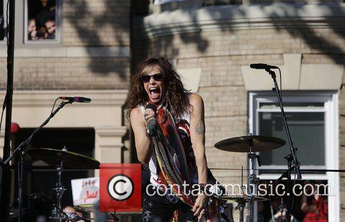Aerosmith's Steven Tyler, Commonwealth Ave, Boston