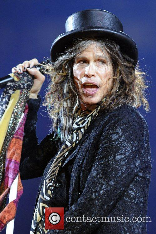 steven tyler aerosmith performs at the air 3966997