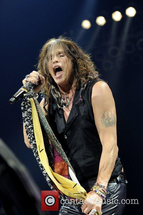 steven tyler aerosmith performs at the air 3967024