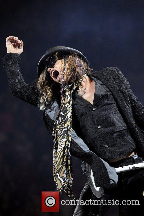 steven tyler aerosmith performs at the air 3967025