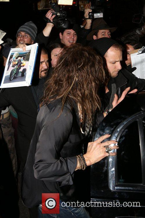 Celebrities attend Aerosmith's concert after party at Pink...
